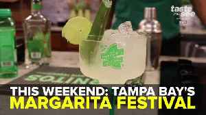 This Weekend: Tampa Bay Music and Margarita Festival | Taste and See Tampa Bay [Video]