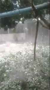 Mind-blowing hail storm causes massive damage in Russian town [Video]