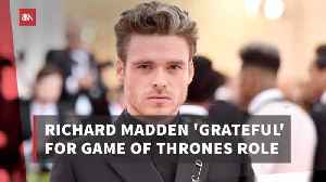 Richard Madden Is Thankful For His Time On 'GoT' [Video]