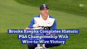 News video: Brooks Koepka Does It Again At The PGA