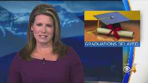 Weather Causes Some Graduation Delays. [Video]