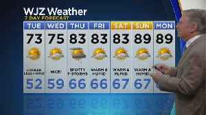 Bob Turk Has A Look At Your Monday Evening Forecast [Video]