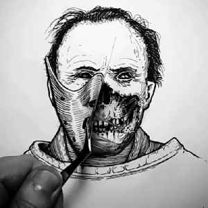 Canadian artist uses pen and ink to draw illustrations inspired by the macabre [Video]