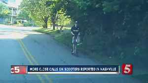 More close calls on scooters reported in Nashville [Video]