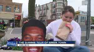 Delaney Brey tries Toronto's best Greek cuisine, as recommended by Giannis [Video]