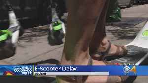 E-Scooters May Not Arrive In Boulder Until 2020 [Video]