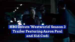 Aaron Paul And Kid Cudi Join 'WestWorld' Season 3 [Video]