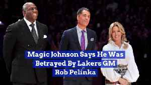 Magic Johnson Opens Up About His Lakers Exit [Video]