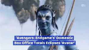 News video: The Avengers Have Toppled Avatar At The Box Office