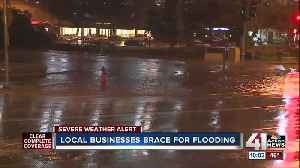 KC businesses brace for heavy rainfall, possible flooding [Video]