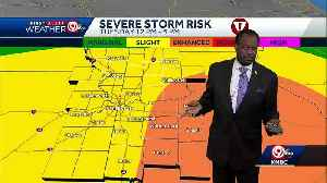 More rain, chance for severe weather Tuesday [Video]