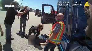 Truck Driver Finally Meets Bystanders Who Saved His Life After Dangerous Crash [Video]