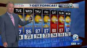 Latest Weather Forecast 11 p.m. Monday [Video]