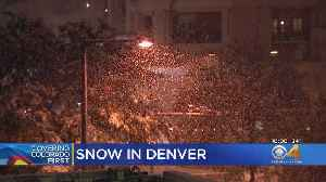 Snow Falls In Denver, Metro Area In Late May [Video]