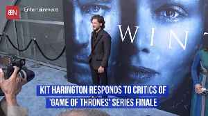 Kit Harington Defies What Critics Are Saying About The 'GoT' Finale [Video]