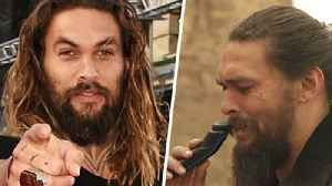 This Is The Real Reason Jason Momoa Shaved His Iconic Beard Off - And It's Beautiful [Video]