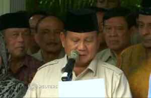 Indonesia's presidential challenger says does not accept result [Video]