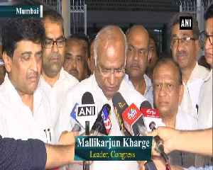 Mallikarjun Kharge rejects third front preposition confident of Congress leading Opposition alliance [Video]