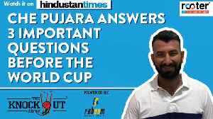 Che Pujara answers 3 important questions before the World Cup on The Knockout Show powered by Faboom Fantasy [Video]