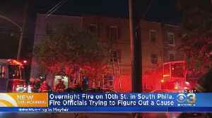 Flames Break Out Overnight In South Philadelphia Rowhome [Video]