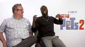 'The Secret Life Of Pets 2': Exclusive Interview With Kevin Hart & Eric Stonestreet [Video]