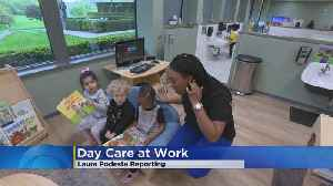 Growing Daycare Trend: Right At The Work Office [Video]