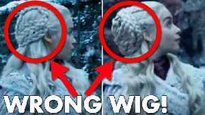 10 Game of Thrones Mistakes You Probably Missed [Video]