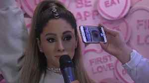 Madame Tussauds unveils Ariana Grande waxwork [Video]