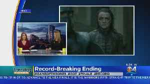 Trending: Game Of Thrones Finale Record [Video]
