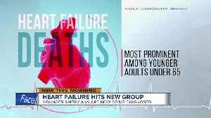 New study shows heart failure deaths rising, especially in younger adults [Video]