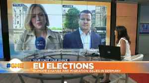 How are voters in UK and Germany reacting to upcoming EU elections? [Video]