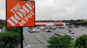 News video: Home Depot Same-Store Sales Misses On Wet Weather, Lumber Prices