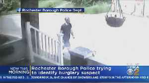 Rochester Police Working To ID Burglary Suspect [Video]
