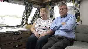 Couple forced in caravan after dream home delayed [Video]
