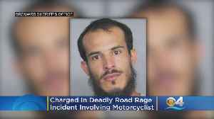 Man Charged In Deadly Road Rage Incident Involving Motorcyclist [Video]