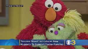 'Sesame Street' Introduces 3 New Muppets To Support Foster Families [Video]
