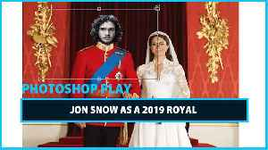 Celeb Photoshop Transformation: Jon Snow as a modern day King [Video]