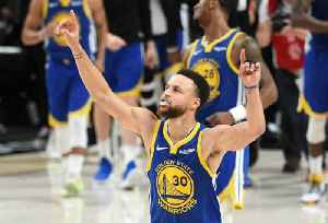 News video: Warriors Sweep Blazers to Reach Fifth Straight NBA Finals