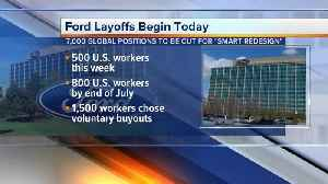 Hundreds of Ford workers to be laid off this week [Video]