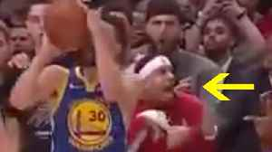 Seth Curry SNITCHES On Bro Steph For Traveling As KD-Less Warriors Head To 5th Straight NBA Finals! [Video]