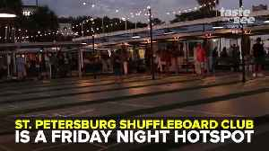 St. Petersburg Shuffleboard Club is a Friday Night Hotspot [Video]