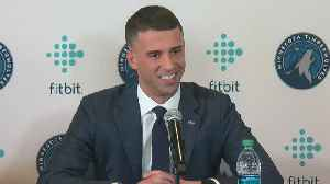 Timberwolves Introduce Ryan Saunders As New Head Coach [Video]