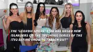 Holly Hagan offers support to this year's Love Island contestants [Video]