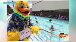 'Float Like A Duck' Water Safety Event [Video]