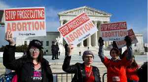 Hundreds Gather At U.S. Supreme Court to Protest State Abortion Bans [Video]