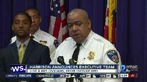 News video: BPD Commissioner Harrison hires civilians, outside police department to fill out executive staff