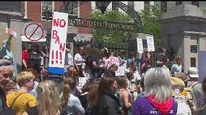 Abortion Rights Activists Hold Rallies In Boston, Brookline To Protest Stricter State Laws [Video]
