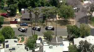 WATCH: LAPD Pursuit Ends When Suspect Pulls In To Mission Hills Home [Video]