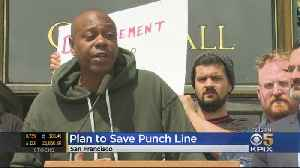 Dave Chappelle Among Comedians Seeking To Save Punch Line [Video]