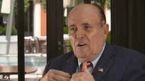 Rudi Giuliani says nationalism is 'very natural' and good for Europe [Video]
